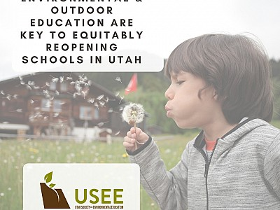 USEE Releases Guidance for School Reopening: How EE and Learning Outdoors Can Help!